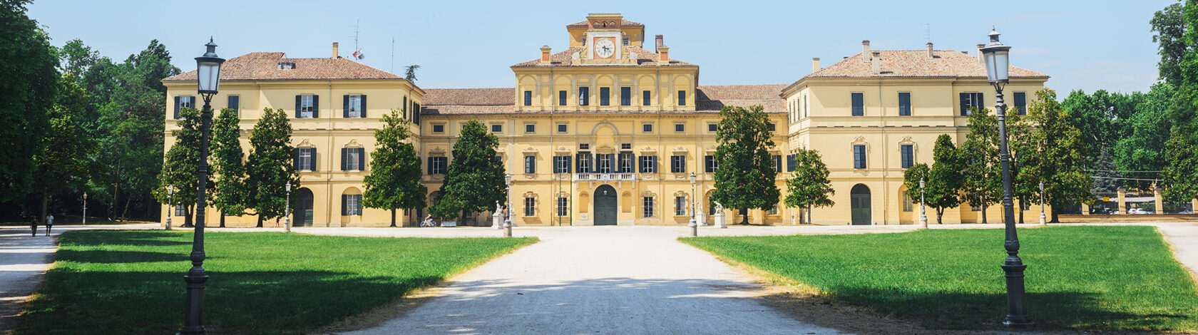Palazzo Ducale building in Parco Ducale park Parma city Emilia-Romagna region central Italy Europe